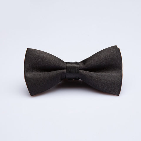 Black Formal Kids Bow Tie - Bowties - 1