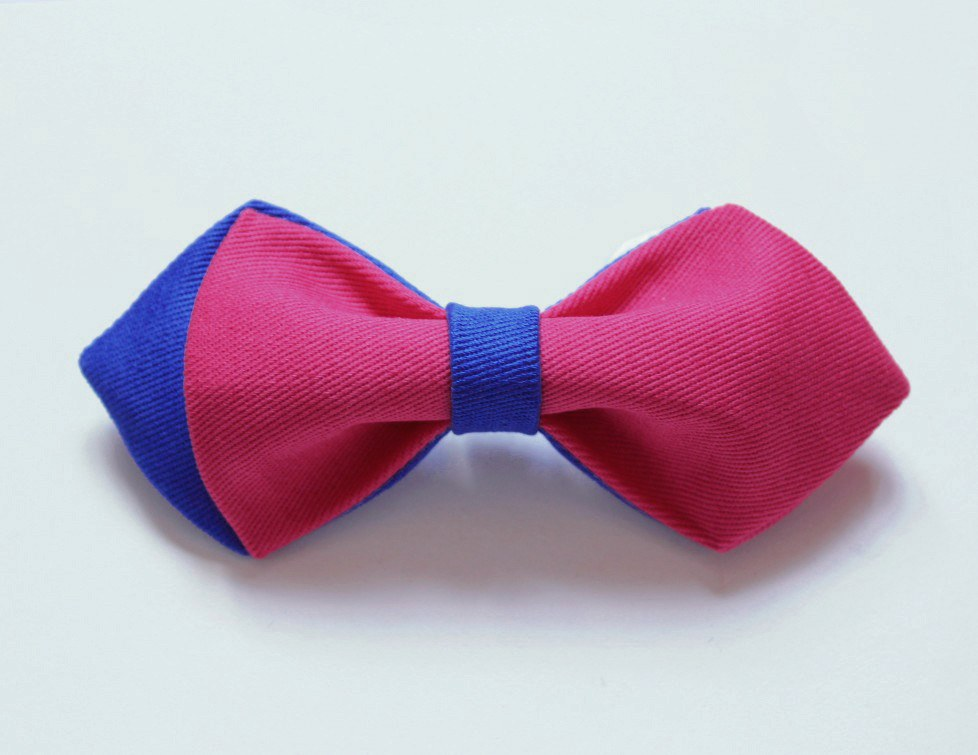 Blue & Pink Boys Bow Tie - Bowties - 1