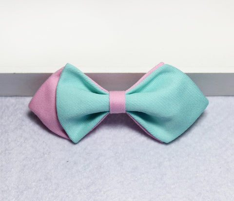 Blue & Violet Boys Bow Tie - Bowties - 1