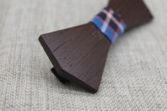 Bold Dark Wood Bow Tie - Bowties - 2