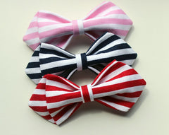 Orange Striped Kids Bow Tie - Bowties - 2