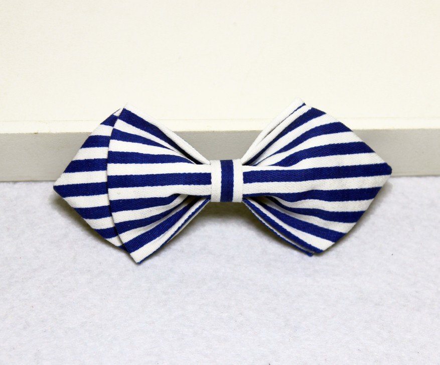 Boldly Striped Boys Bow Tie - Bowties - 1