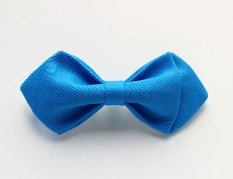 Bright Blue Boys Bow Tie - Bowties - 1