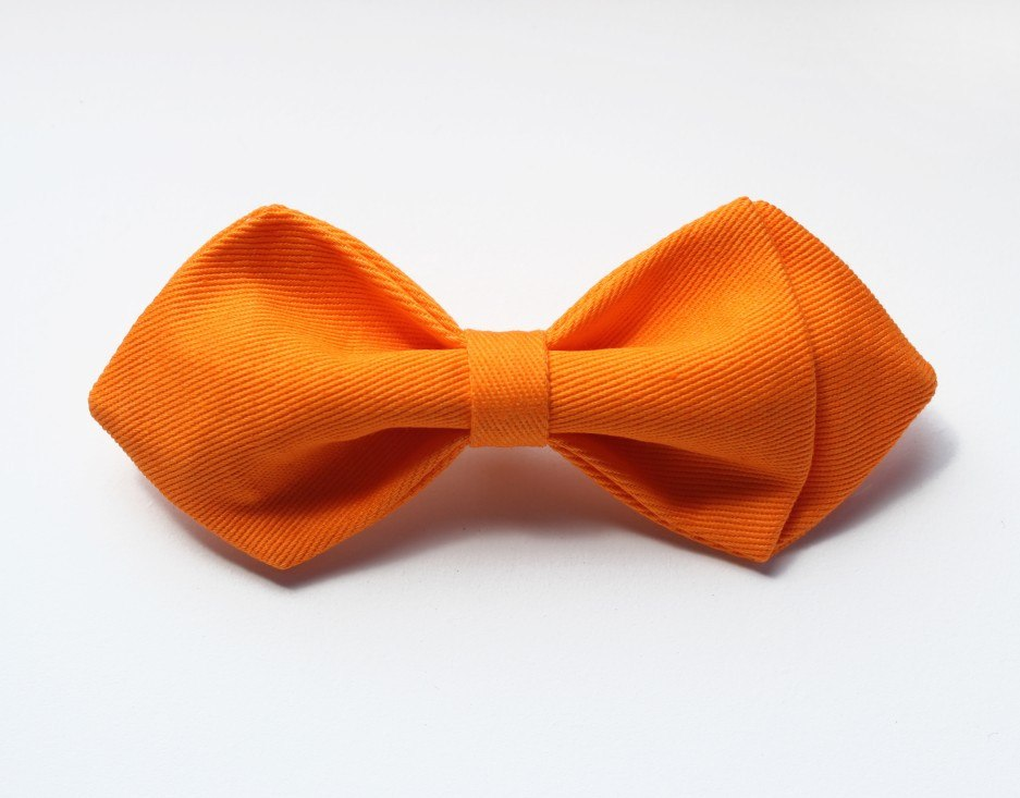 Bright Orange Boys Bow Tie - Bowties - 1