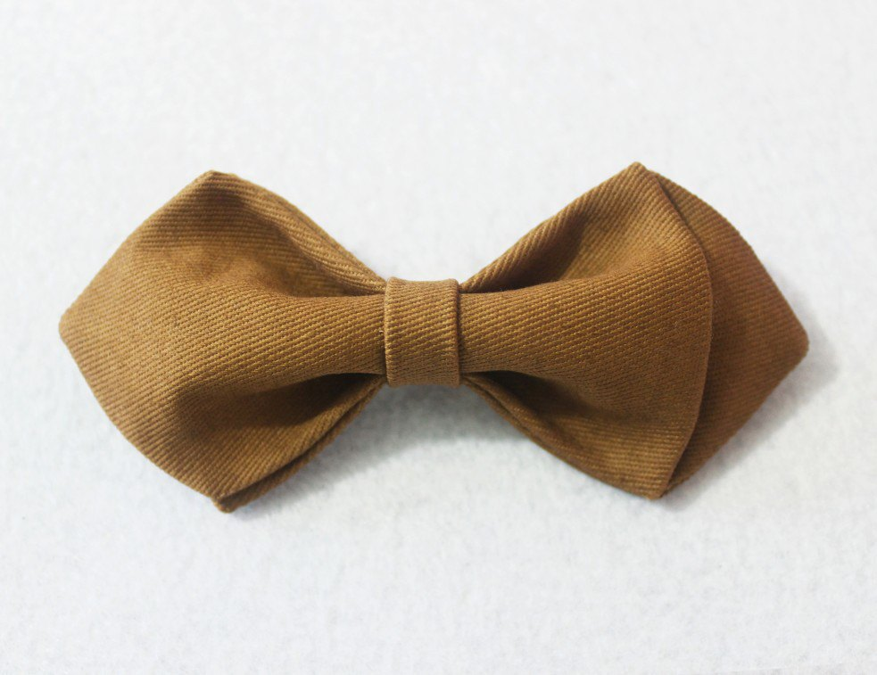 Brown Boys Bow Tie - Bowties - 1