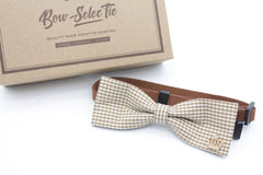 Brown Lover Cat & Dog Bow Tie Collar