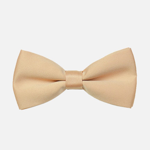 Champagne Tuxedo Bow Tie - Bowties