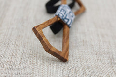 Chestnut Hollow Tip Wood Bow Tie - Bowties - 4