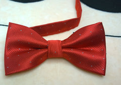 Classic Red Bow Tie - Bowties - 4