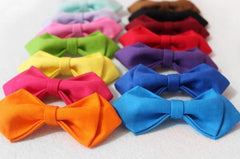 Baby Pink Kids Bow Tie - Bowties - 3