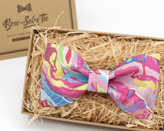 Colorful Streak Bowtie