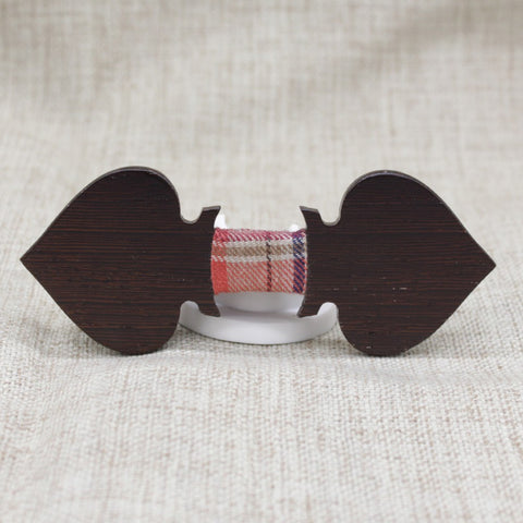 Dark Aces Wooden Bow Tie - Bowties - 1