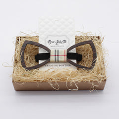 Dark Hollow Wooden Bow Tie - Bowties - 2