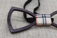 Dark Hollow Wooden Bow Tie - Bowties - 4