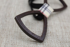 Dark Hollow Wooden Bow Tie - Bowties - 5