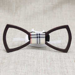 Dark Hollow Wooden Bow Tie - Bowties - 1