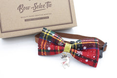Golden Deer Cat & Dog Bow Tie Collar