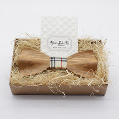 Elegant Slim Wooden Bow Tie - Bowties - 2