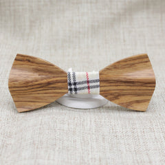 Elegant Slim Wooden Bow Tie - Bowties - 1