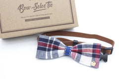 English Style Cat & Dog Bow Tie Collar