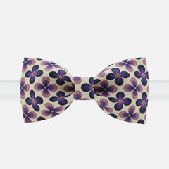 Flower Print Bowtie - Bowties - 1