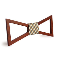 Gentleman Hollow Wooden Bow Tie