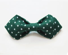 Green Polka Kids Bow Tie - Bowties - 1
