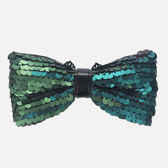 Green Sequin Bow Tie - Bowties