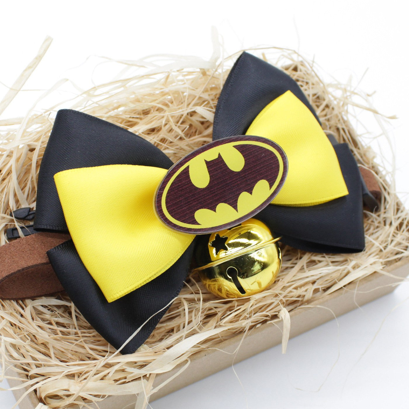 Heroic Batman Cat & Dog Bow Tie Collar