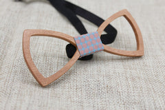 Hollow Classic Wood Bow Tie - Bowties - 5