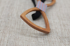Hollow Classic Wood Bow Tie - Bowties - 4