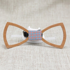 Hollow Classic Wood Bow Tie - Bowties - 1