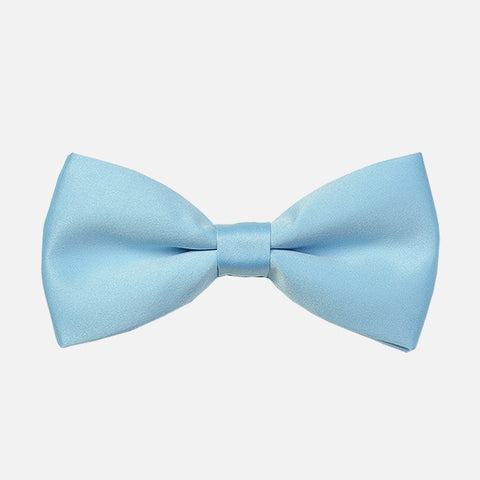 Light Blue Tuxedo Bow Tie - Bowties