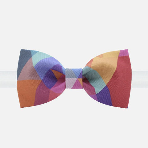 Multi-Colored Quilt Bowtie - Bowties - 1