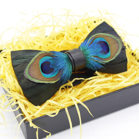 Original Peacock Bowtie - Bowties - 1