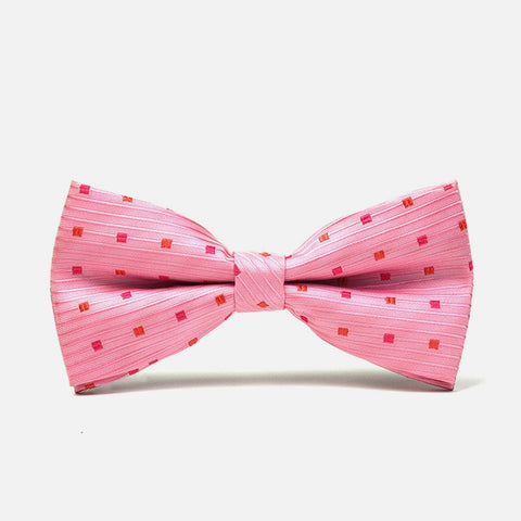 Pink Polka Dot Bow Tie - Bowties