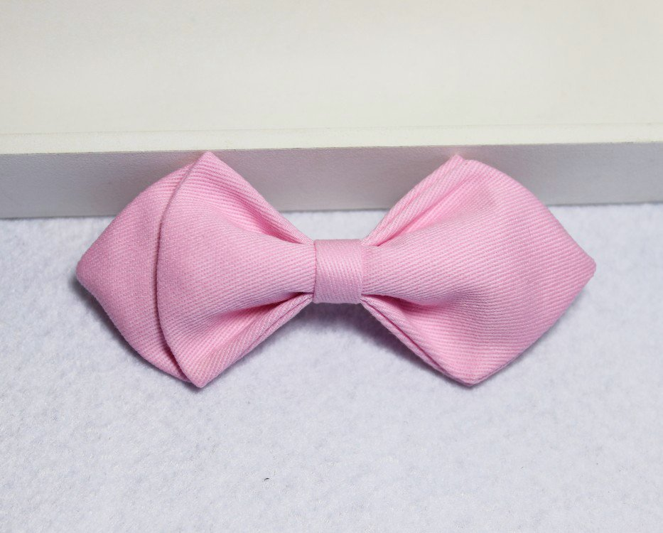 Pink Boys Bow Tie - Bowties - 1