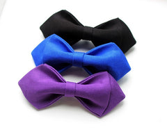 Purple Boys Bow Tie - Bowties - 2