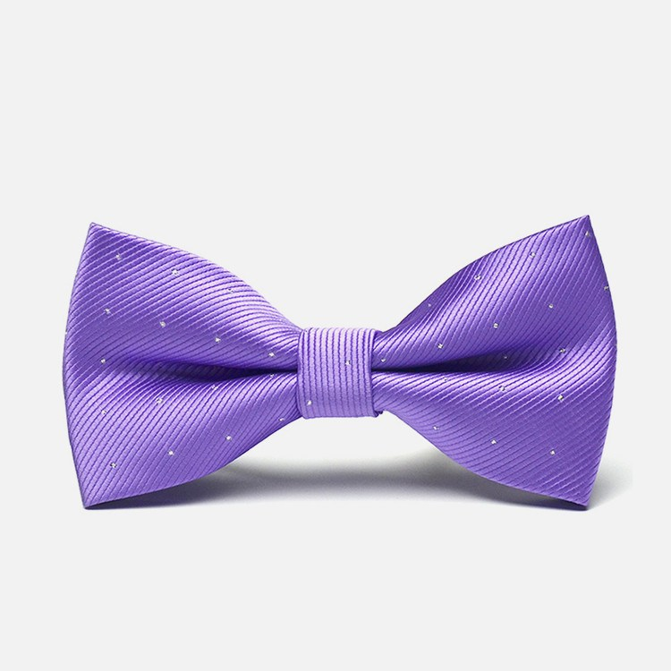 Violet Polka Formal Bow Tie - Bowties