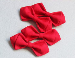 Red Kids Bow Tie - Bowties - 2
