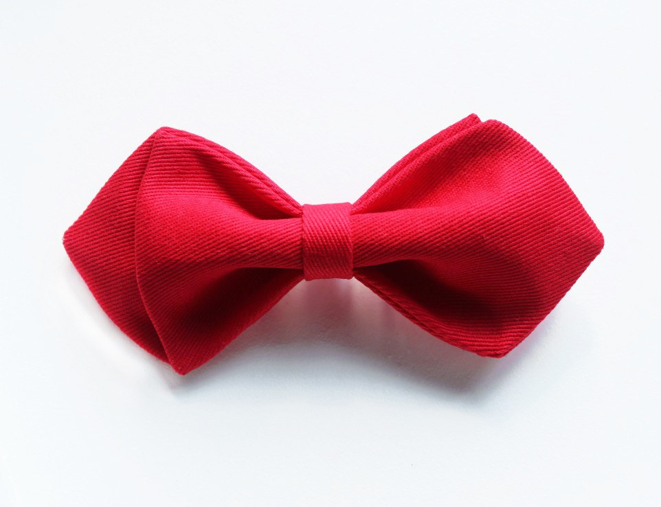 Red Kids Bow Tie - Bowties - 1