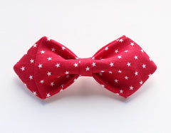 Red Polka Dot Kids Bow Tie - Bowties - 1