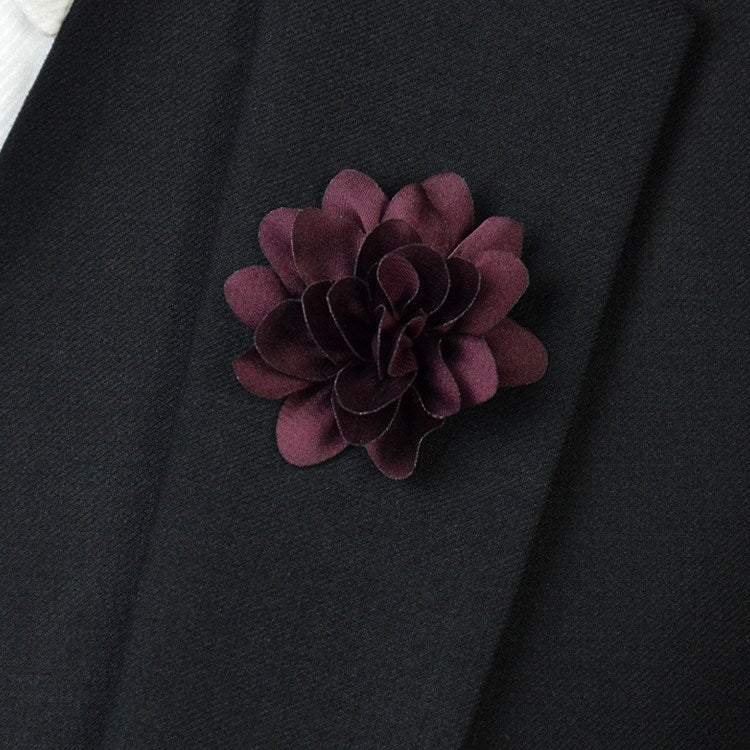 Light Purple Flower Lapel Pin - Bowties - 1