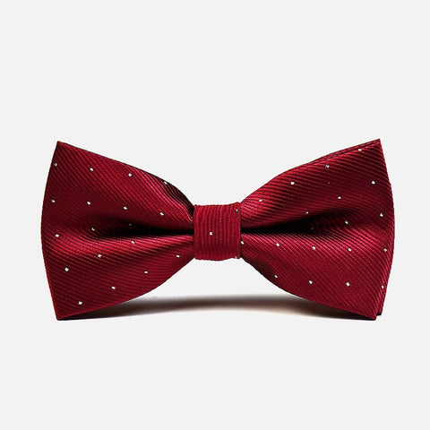 Red Polka Formal Bow Tie - Bowties