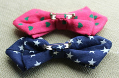 Red Big Polka Kids Bow Tie - Bowties - 3