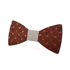 Simply Irresistible Wooden Bow Tie