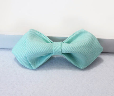 Soft Blue Boys Bow Tie - Bowties - 1