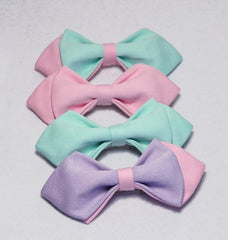 Violet & Pink Kids Bow Tie - Bowties - 2