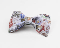 Stamp Collection Bow Tie