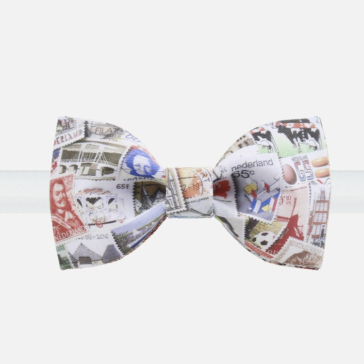 Stamp Collection Bow Tie - Bowties - 1